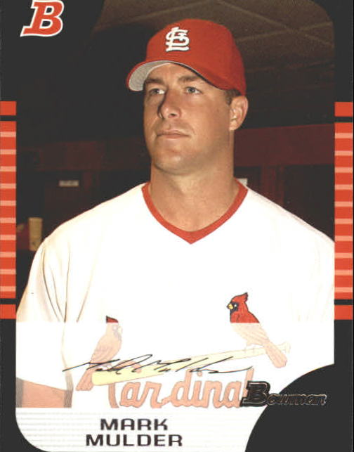2005 Bowman #52 Mark Mulder