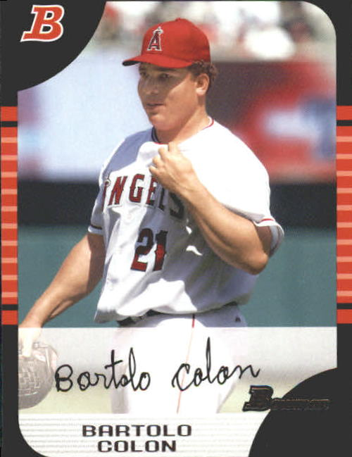 2005 Bowman #85 Bartolo Colon