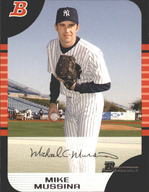 2005 Bowman #87 Mike Mussina