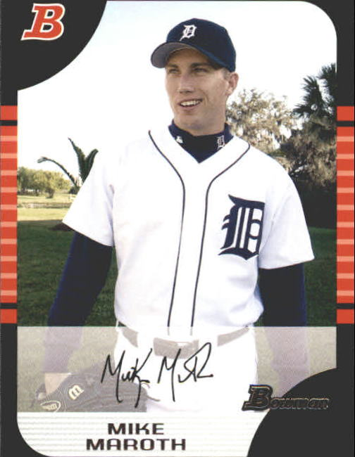 2005 Bowman #92 Mike Maroth