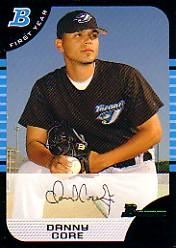 2005 Bowman #213 Danny Core FY RC