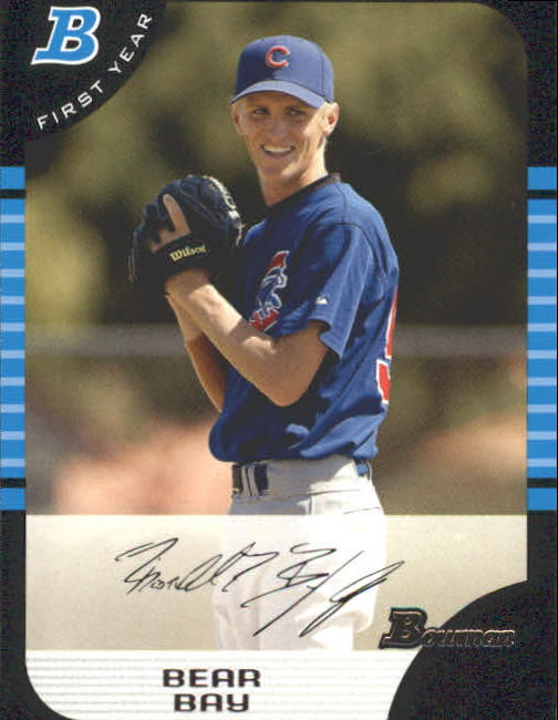2005 Bowman #256 Bear Bay FY RC