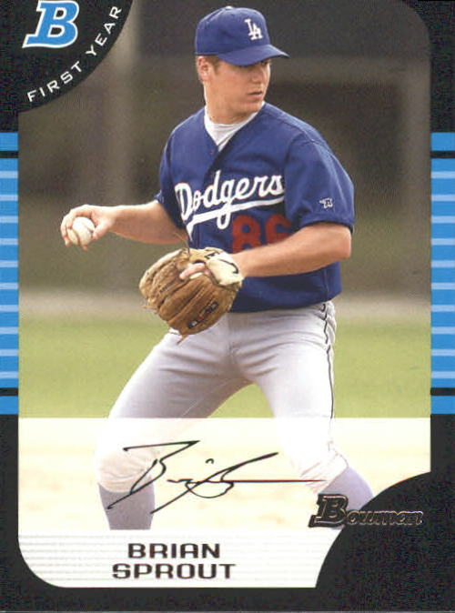 2005 Bowman #259 Brian Sprout FY RC