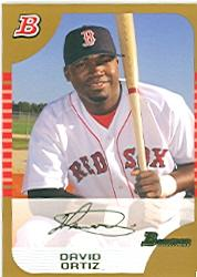 2005 Bowman Gold #78 David Ortiz