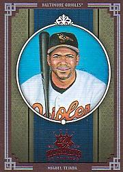 2005 Diamond Kings Framed Red #28 Miguel Tejada