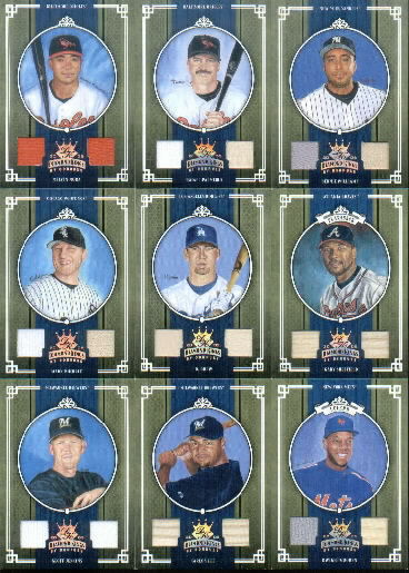 2005 Diamond Kings Materials Bronze #356 J.D. Drew Bat-Bat/200
