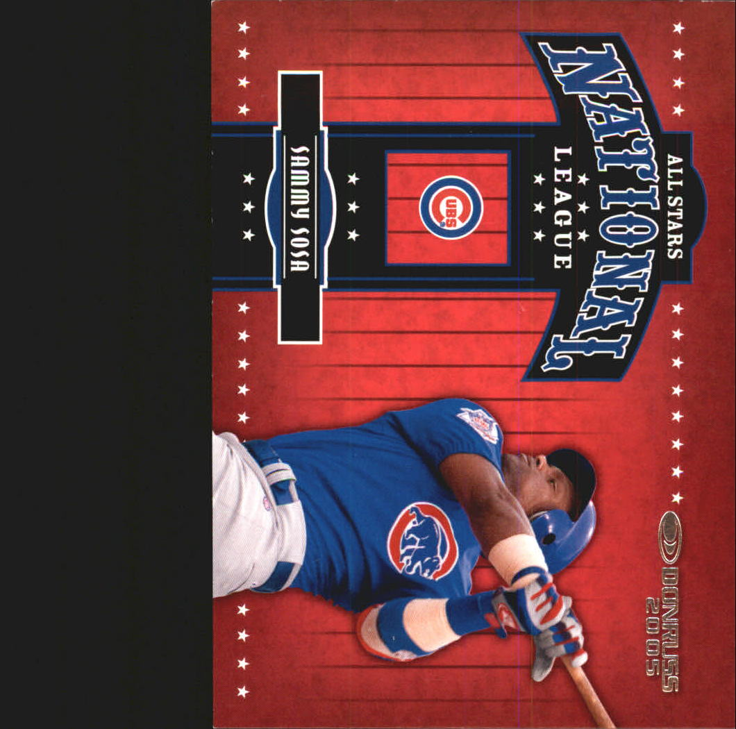 2005 Donruss All-Stars NL #12 Sammy Sosa