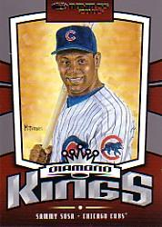 2005 Donruss Diamond Kings Inserts #5 Sammy Sosa front image
