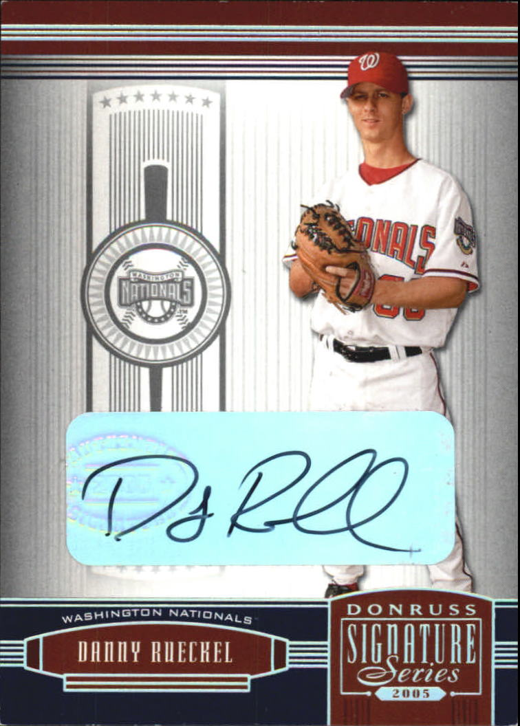 2005 Donruss Signature #148 Danny Rueckel RC
