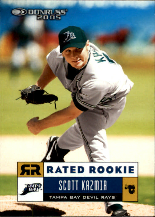 2005 Donruss #40 Scott Kazmir RR
