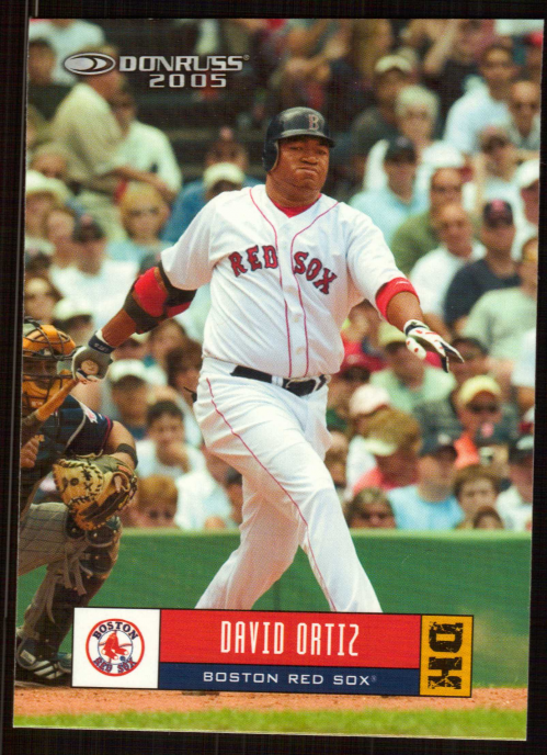 2005 Donruss #118 David Ortiz