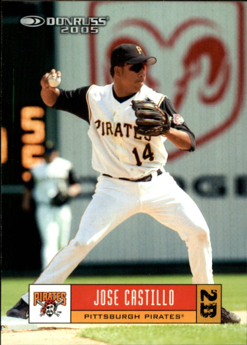 2005 Donruss #307 Jose Castillo