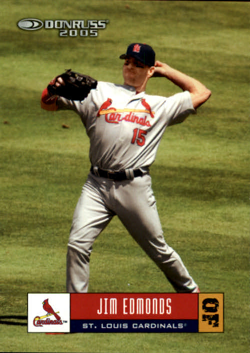 2005 Donruss #338 Jim Edmonds