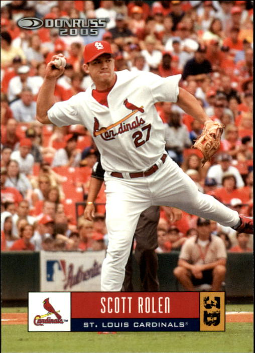 2005 Donruss #342 Scott Rolen