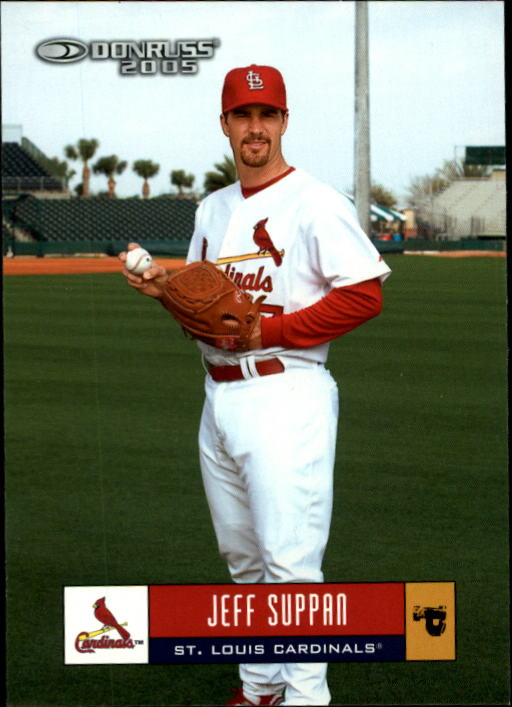 2005 Donruss #344 Jeff Suppan