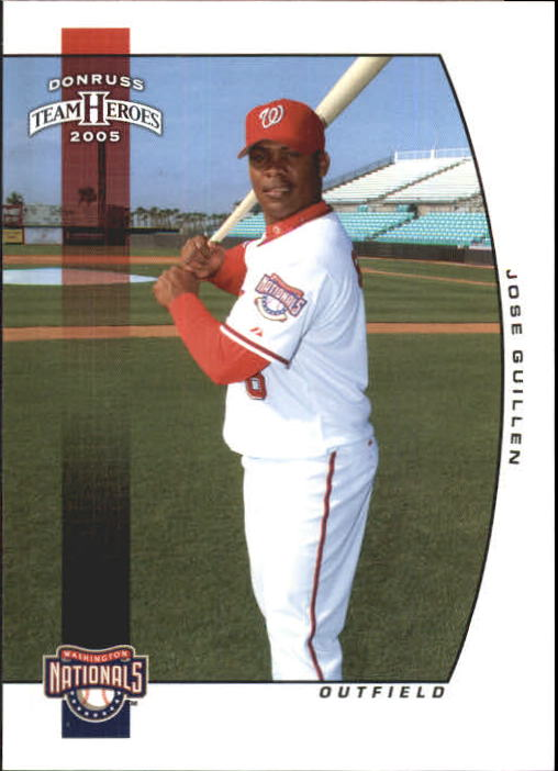 2005 Donruss Team Heroes #13 Jose Guillen