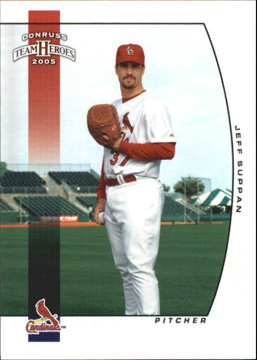 2005 Donruss Team Heroes #295 Jeff Suppan