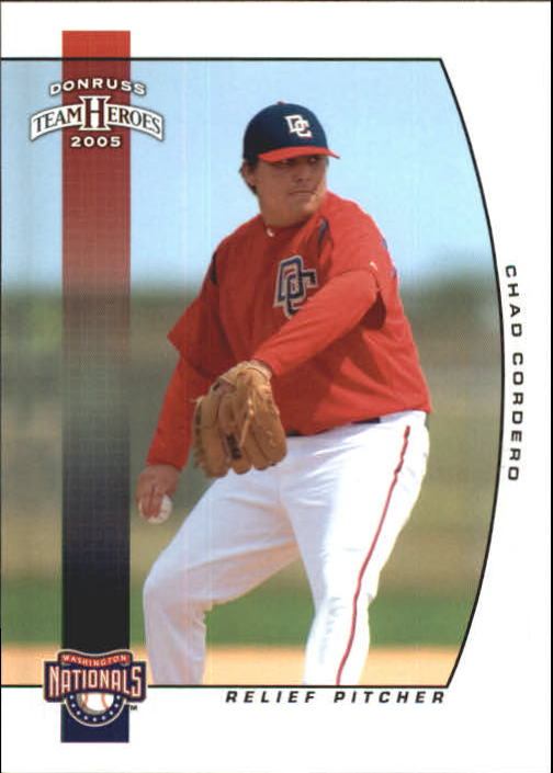2005 Donruss Team Heroes #395 Chad Cordero