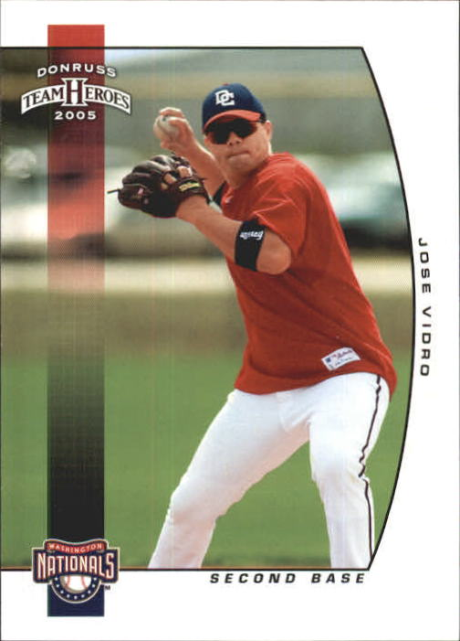 2005 Donruss Team Heroes #397 Jose Vidro