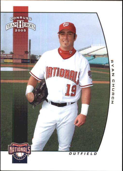 2005 Donruss Team Heroes #401 Ryan Church