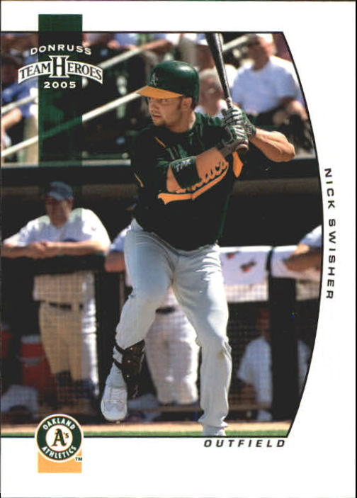 2005 Donruss Team Heroes #412 Nick Swisher