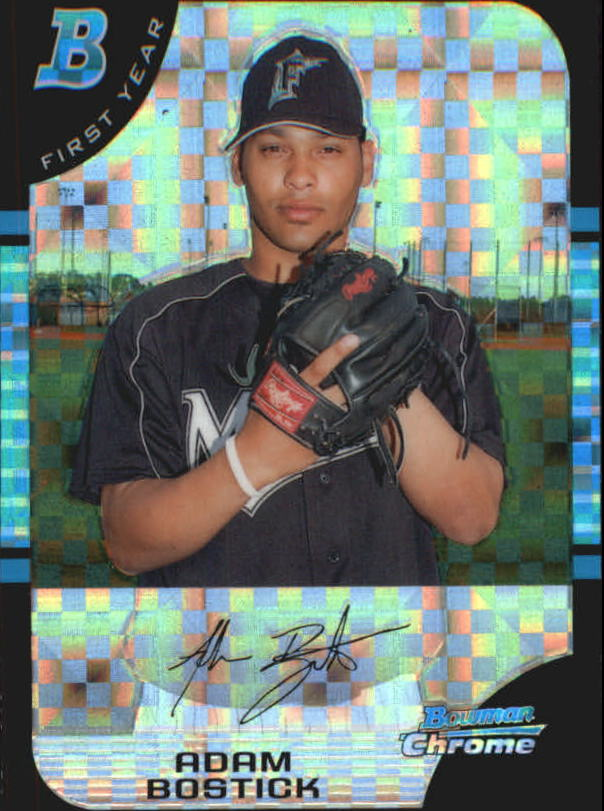 2005 Bowman Chrome X-Fractors #172 Adam Bostick