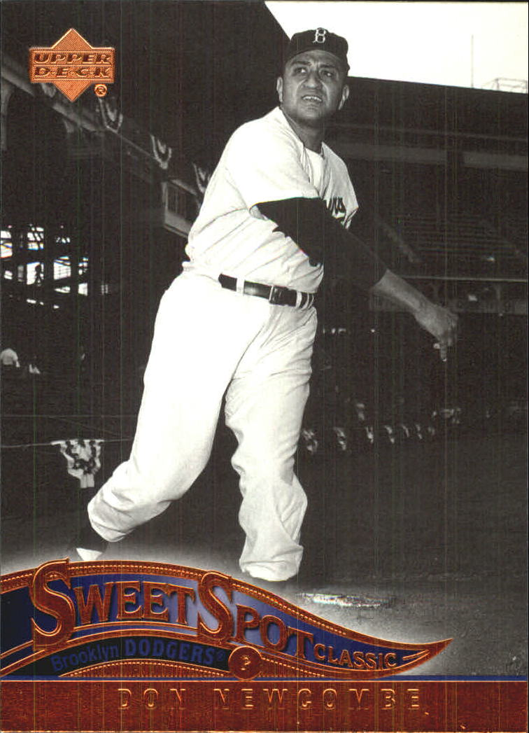 2005 Sweet Spot Classic #22 Don Newcombe