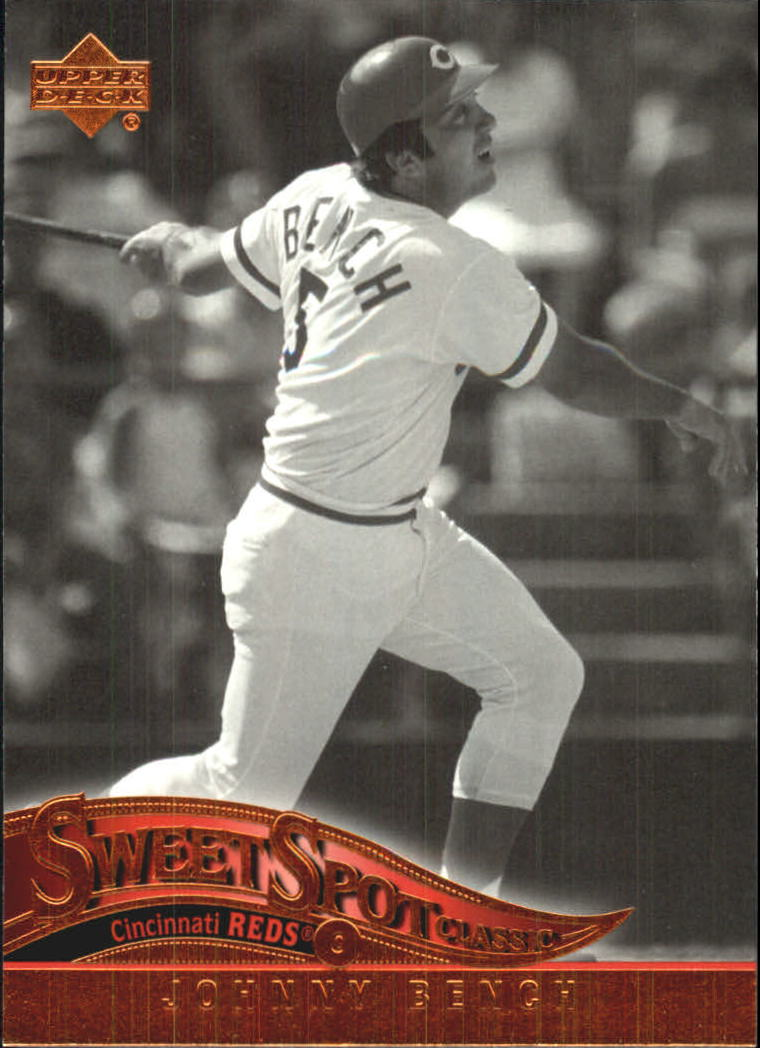 2005 Sweet Spot Classic #47 Johnny Bench