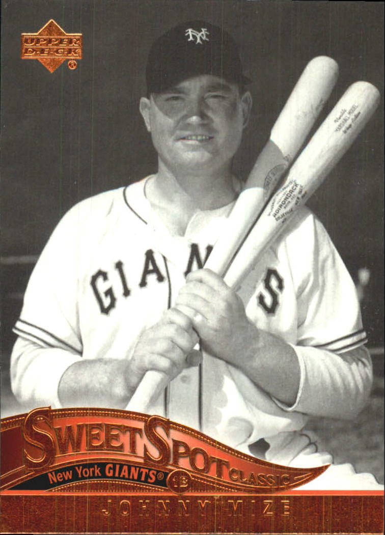 2005 Sweet Spot Classic #48 Johnny Mize
