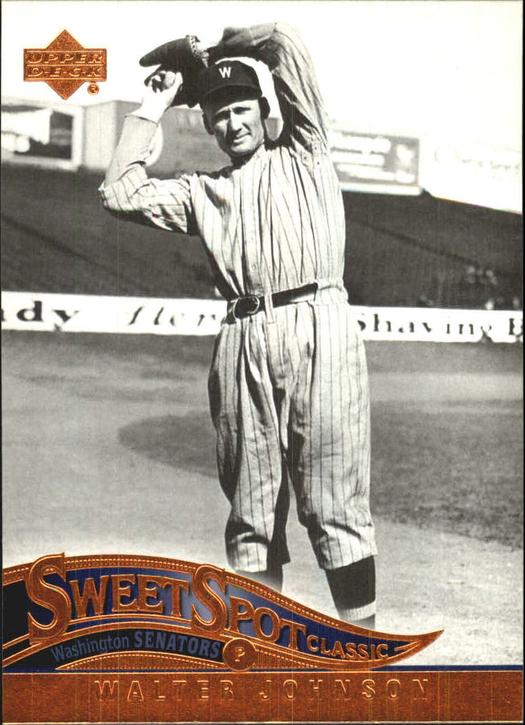 2005 Sweet Spot Classic #93 Walter Johnson