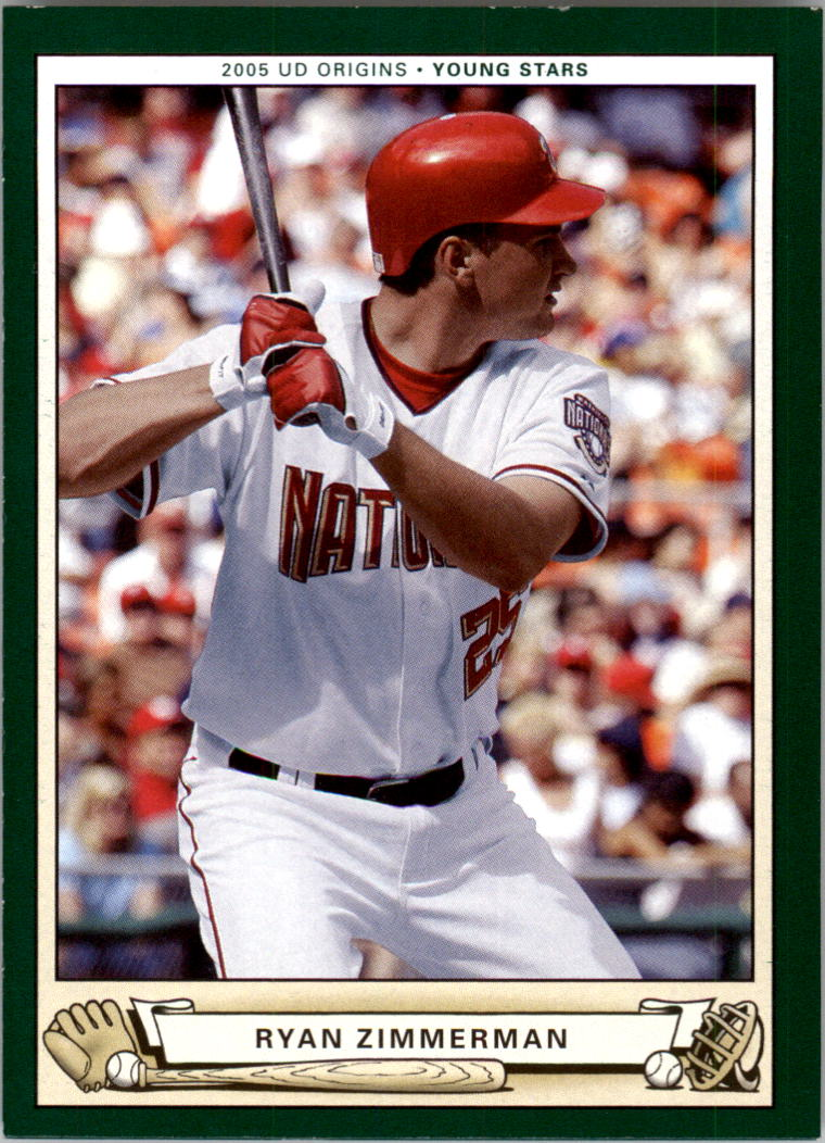2005 Origins #223 Ryan Zimmerman YS RC