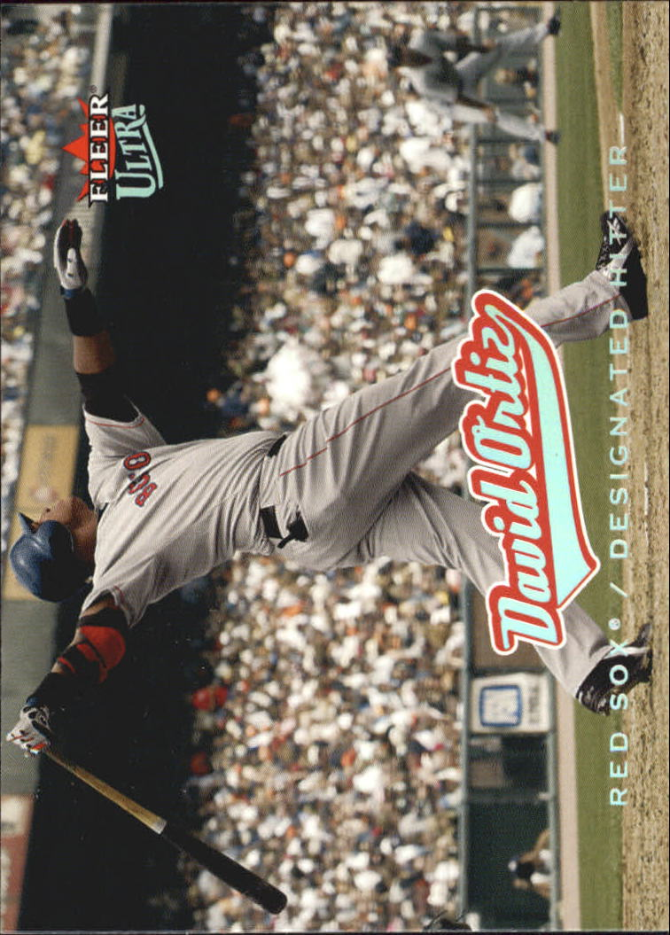 2005 Ultra #17 David Ortiz