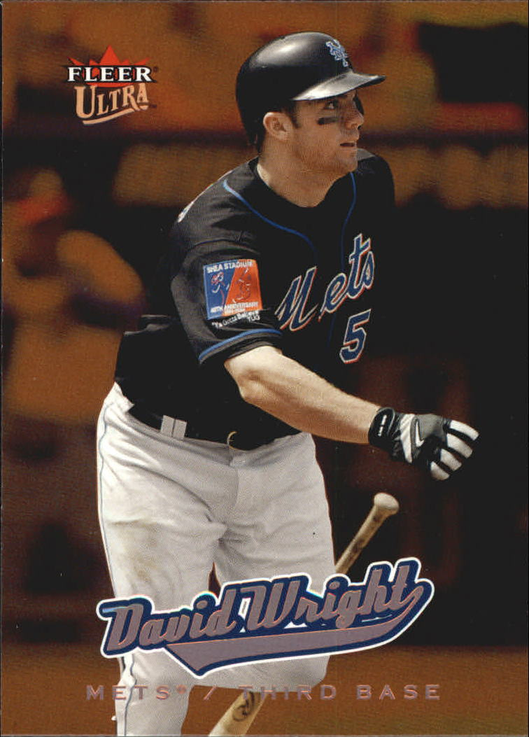 2005 Ultra #207 David Wright AR
