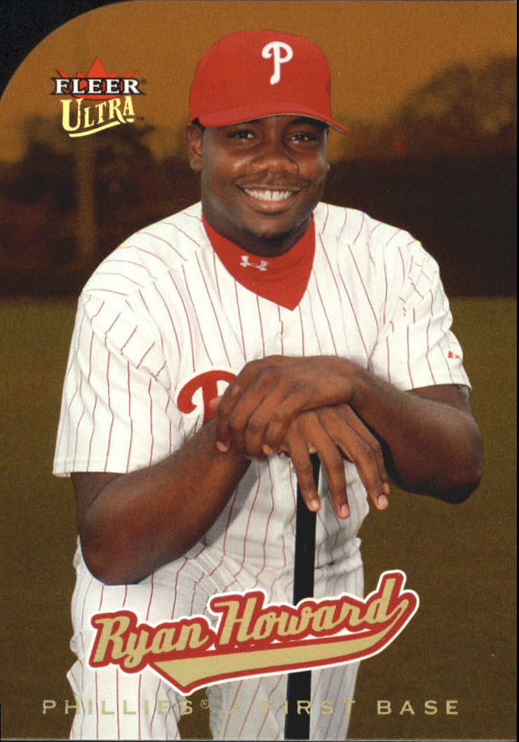 2005 Ultra Gold Medallion #213 Ryan Howard AR