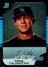 2005 Bowman Chrome Draft #105 Troy Tulowitzki FY RC