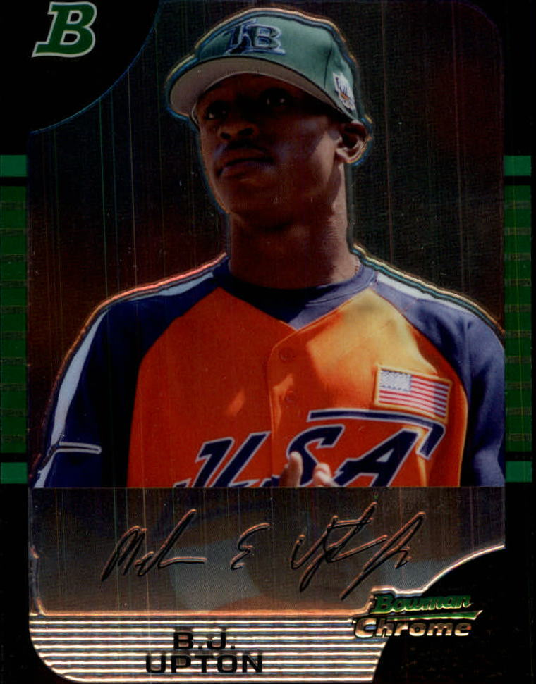 2005 Bowman Chrome Draft #142 B.J. Upton PROS
