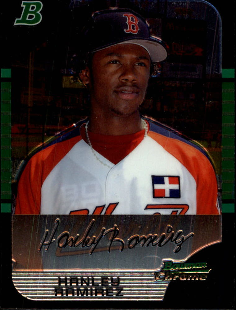 2005 Bowman Chrome Draft #153 Hanley Ramirez PROS