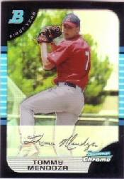 2005 Bowman Chrome Draft Refractors #42 Tommy Mendoza FY