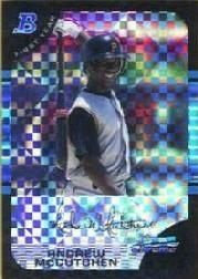 2005 Bowman Chrome Draft X-Fractors #63 Andrew McCutchen FY