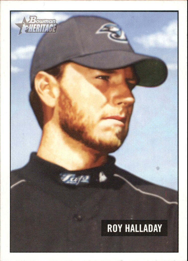 2005 Bowman Heritage #195 Roy Halladay
