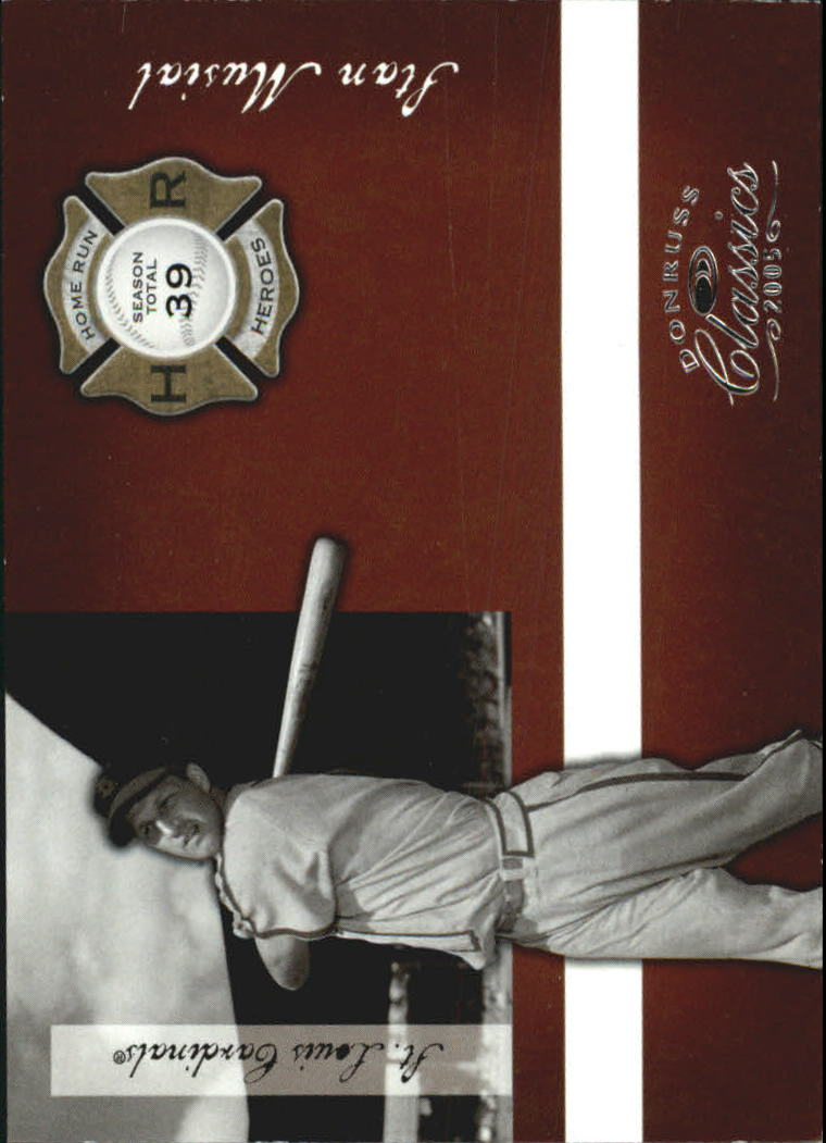2005 Donruss Classics Home Run Heroes #6 Stan Musial