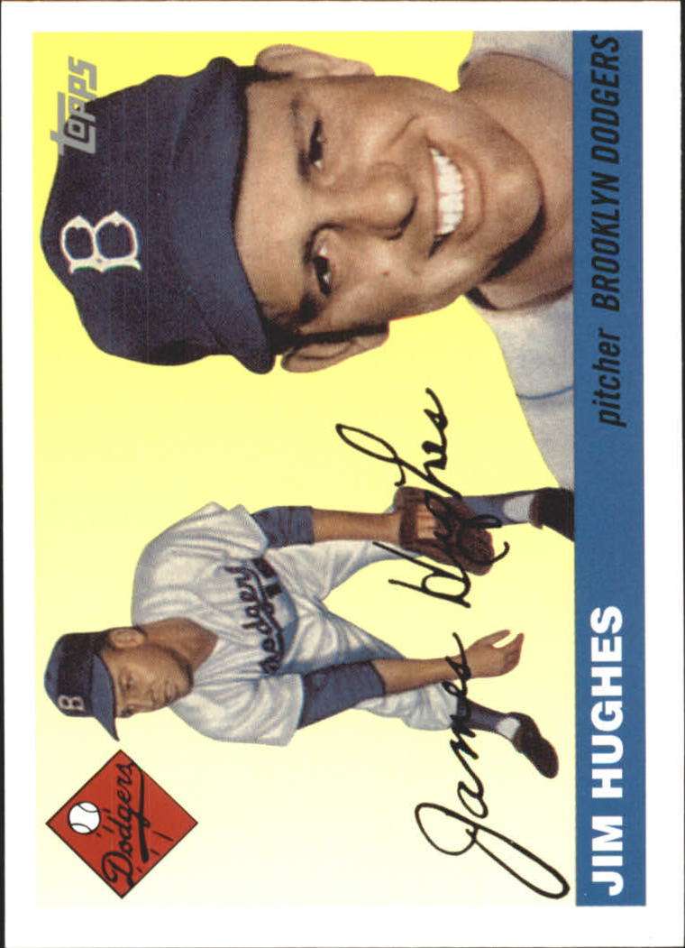 2005 Topps Dem Bums #JH Jim Hughes