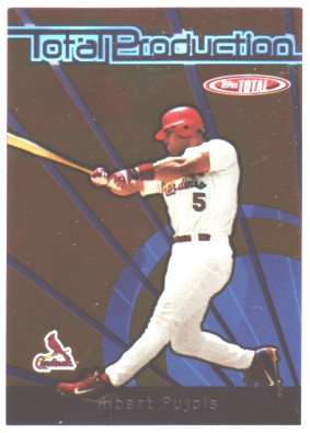 2005 Topps Total Production #AP Albert Pujols