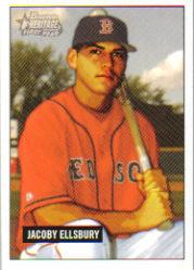2005 Bowman Heritage Draft Pick Variation #337 Jacoby Ellsbury