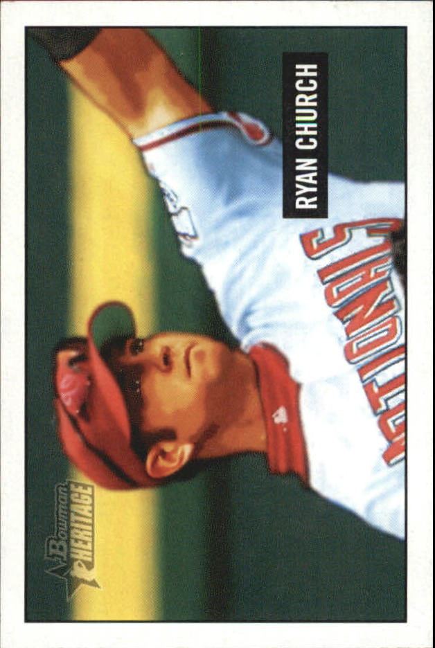 2005 Bowman Heritage Mini #97 Ryan Church