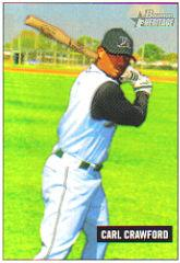 2005 Bowman Heritage Mini #131 Carl Crawford