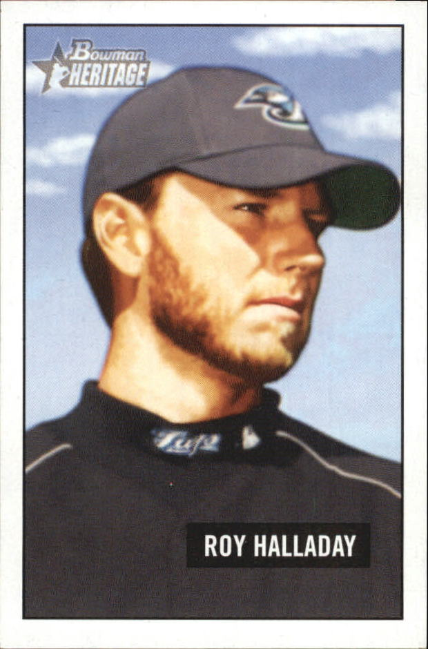 2005 Bowman Heritage Mini #195 Roy Halladay