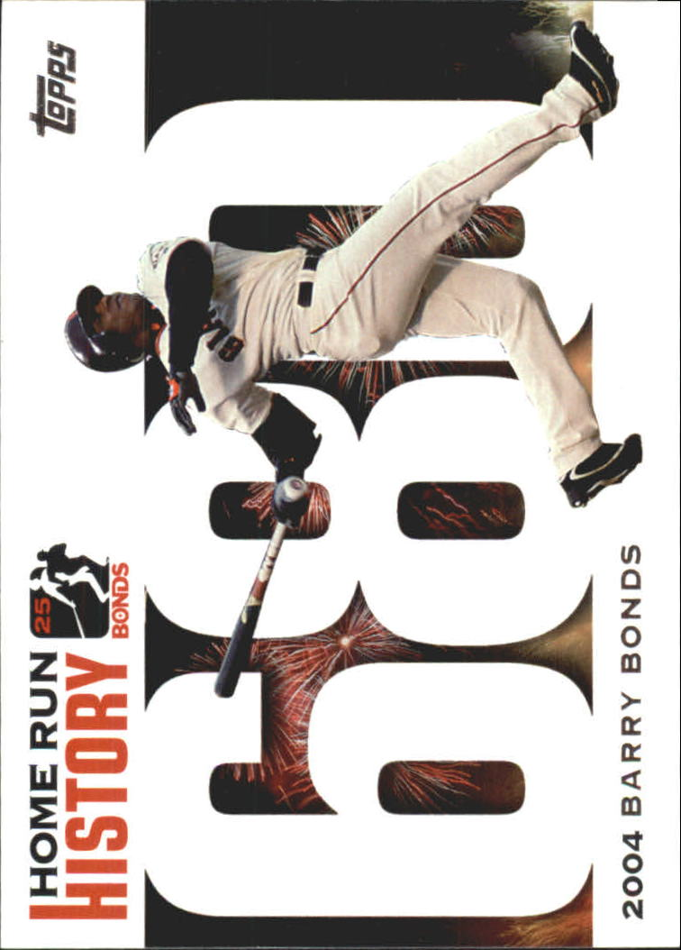 2005 Topps Barry Bonds Home Run History #680 Barry Bonds HR680 front image