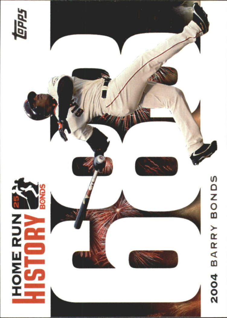 2005 Topps Barry Bonds Home Run History #683 Barry Bonds HR683 front image