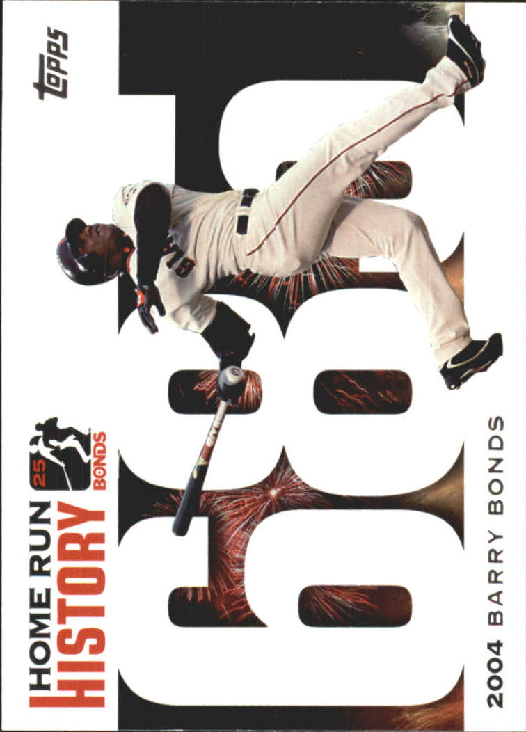 2005 Topps Barry Bonds Home Run History #685 Barry Bonds HR685